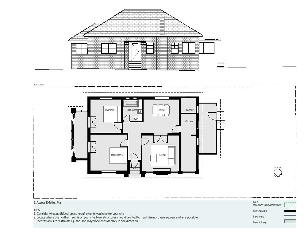 Buy online architectural plans with council approval for How to get floor plans of an existing building