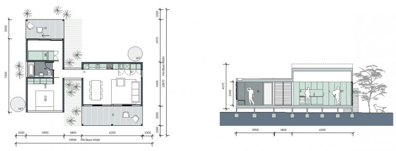 Home design pavilion granny flats and home designs plans for Pavillion home designs australia