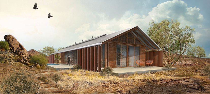 Outback house new home design creative spaces for Shed home designs australia